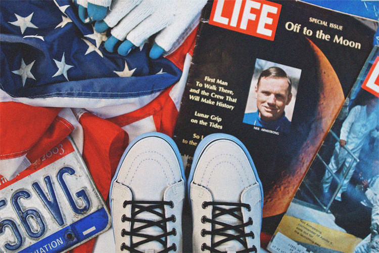 3392d249ff Sole Classics x Vans Sk8-Hi Inspired by Neil Armstrong Preview