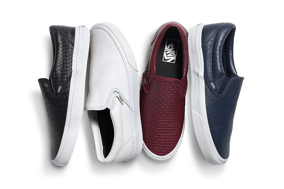 Vans 2015 Spring/Summer Classic Slip-On Collection