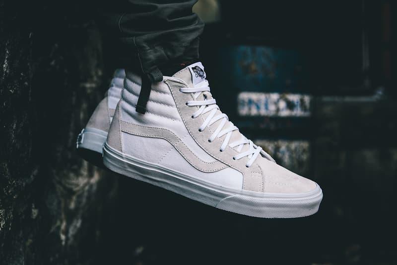 "After Vans  drop of its Old Skool low top ""True White"" sneaker comes the Vansguard  Sk8-Hi Reissue a69a1f0088"