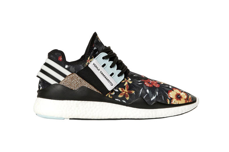 "6fd95f2f76f91 Y-3 2015 Spring Summer ""Floral"" Footwear Collection. Yohji Yamamoto is  bringing the staple trend of floral prints from previous seasons into 2015"