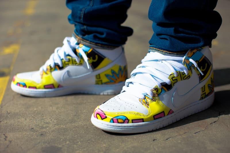 on sale eb26d 94cfe A Closer Look at the De La Soul x Nike SB Dunk High | HYPEBEAST