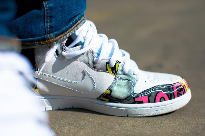 on sale 0fb51 ee976 A Closer Look at the De La Soul x Nike SB Dunk High | HYPEBEAST