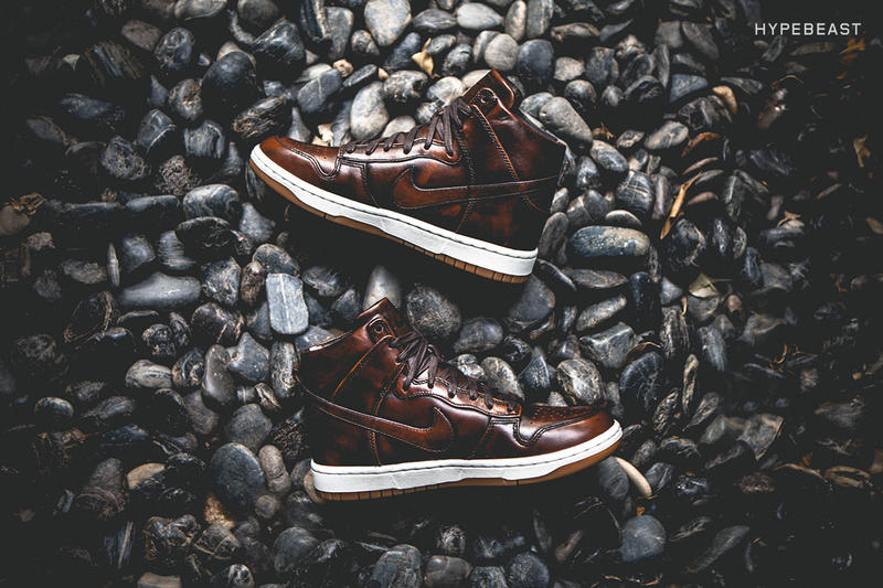 "A Closer Look at the Nike Dunk Lux High SP ""Burnished Leather"""