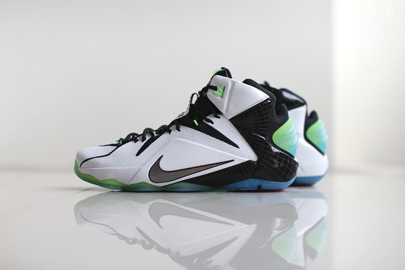 "huge discount c7131 113b7 Take a closer look at the upcoming Nike LeBron 12 ""All-Star"" colorway. Part  of Nike s collective"