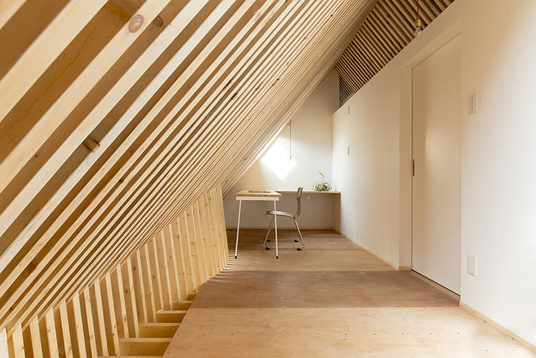 Triangle House by Life Style Koubou