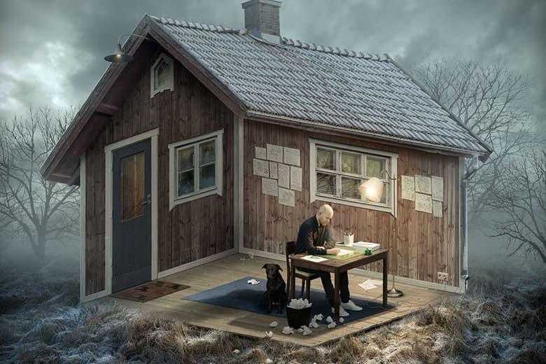 Erik Johansson's Trippy, Illusionary Photos