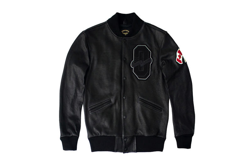 "d404bf2065b Drake Presents OVO x Roots Canada 2015 ""October"" Varsity Jacket ..."