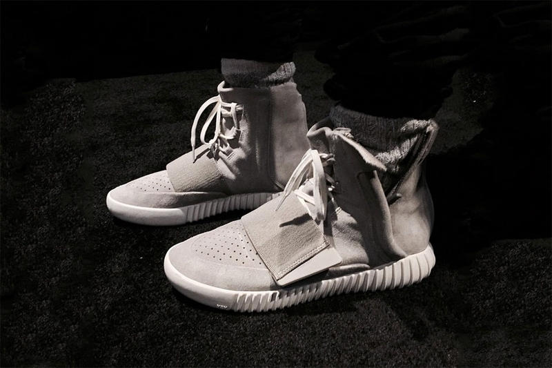 buy popular 084e7 9b1f8 As the adidas x Kanye West collaboration release approaches, the rapper  hooks his close friends and