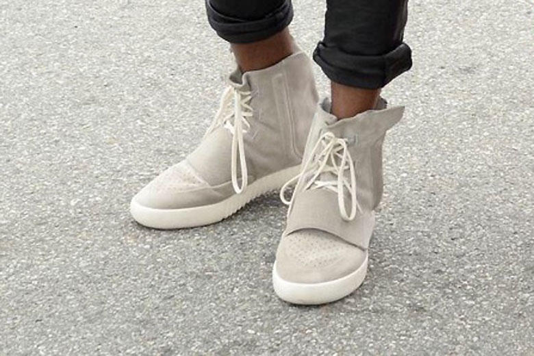 hot sale online 77d14 14f92 Kanye West is Seen in His New adidas Yeezy 750 Boost | HYPEBEAST