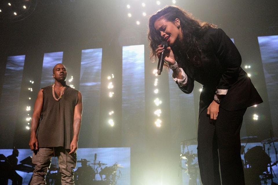 Kanye West & Rihanna Give Surprise Performance at Roc Nation's Super