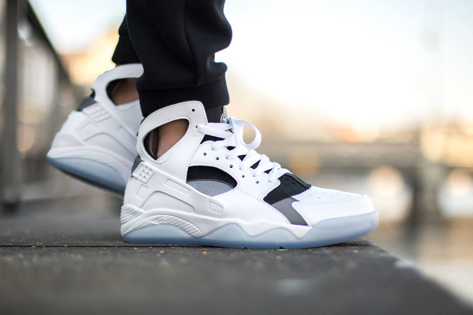 Nike\u0027s Air Flight Huarache is set to return this spring in an all,new  colorway. The high top model