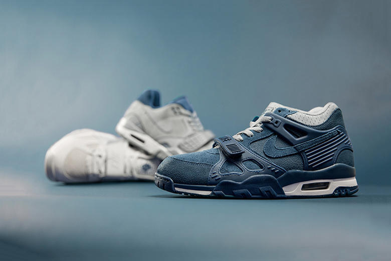 2828a5de30705 The classic Nike Air Trainer silhouette has received a makeover courtesy of  size?. Featuring three