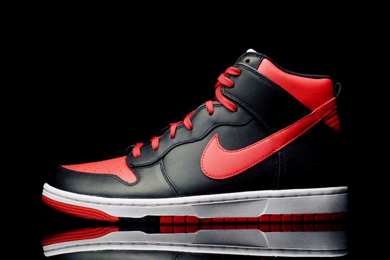 """new style 2024f 7be4f The Nike Dunk CMFT University """"Red-Black"""" brings a new red-accented  colorway applied onto the"""
