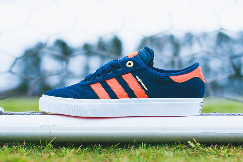 """detailed look 9a979 0dab2 Following the unveiling of the The Hundreds x adidas """"Crush"""" pack last  month, we now take a closer"""