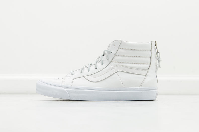 80901f7109 Vans will be reissuing four new pairs of its reigning Sk8-Hi Zip LX skate  shoe this spring season.