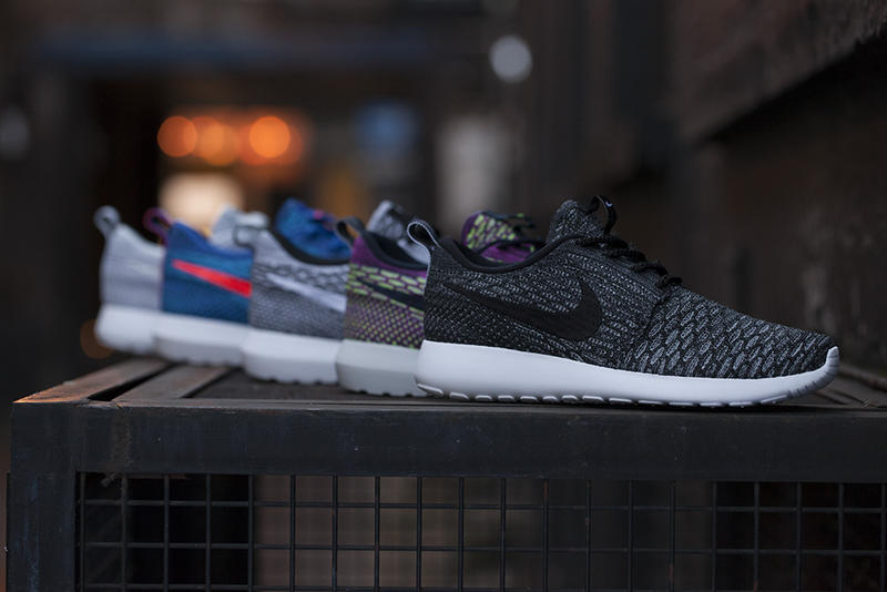 Various Nike Flyknit Roshe Run Colorways Set to Release ... Nike Roshe Run 2017 Colorways