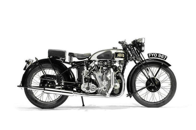 1939 Vincent HRD Series-A Rapide Motorcycle