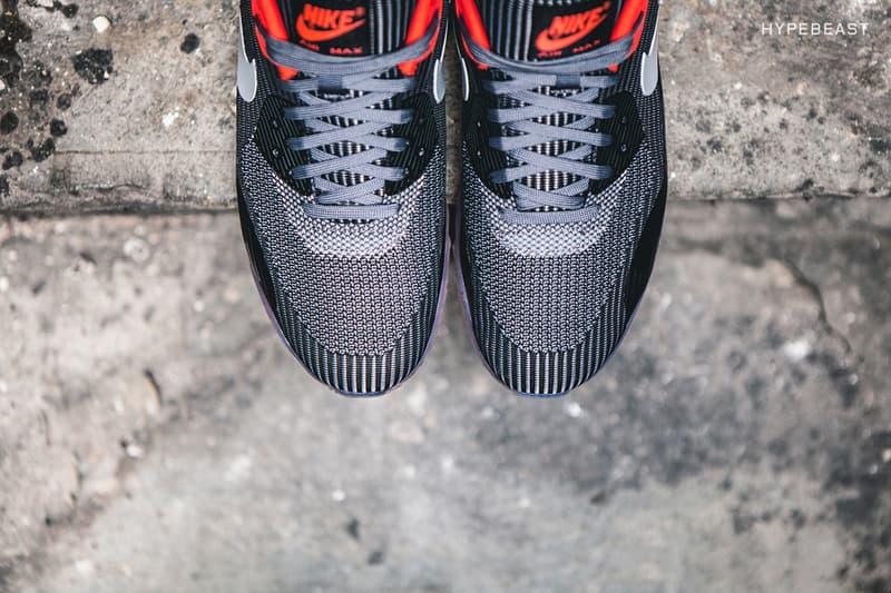 e8e055a420ee A Closer Look at the Nike Air Max 90 Knit Jacquard ICE
