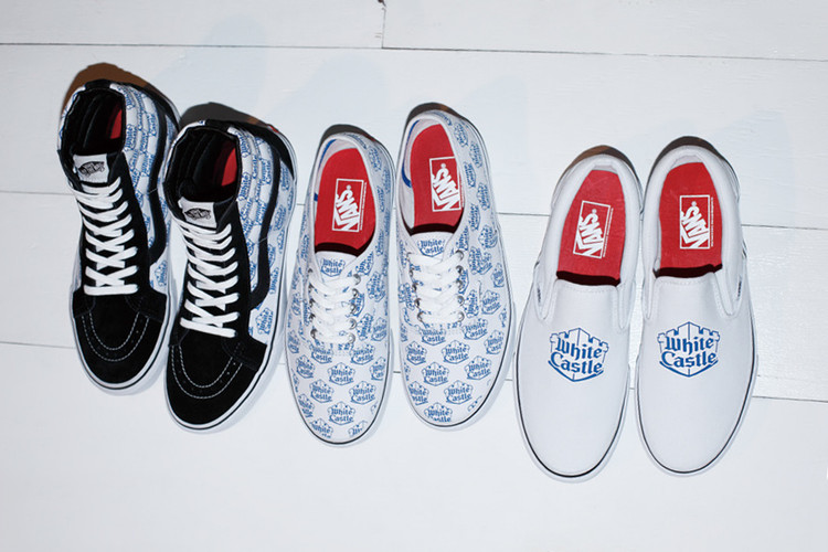 promo code 8e3f0 382be A First Look at the White Castle x Supreme x Vans 2015 Spring Summer  Collection