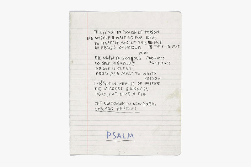 """""""Basquiat: The Unknown Notebooks"""" @ Brooklyn Museum"""