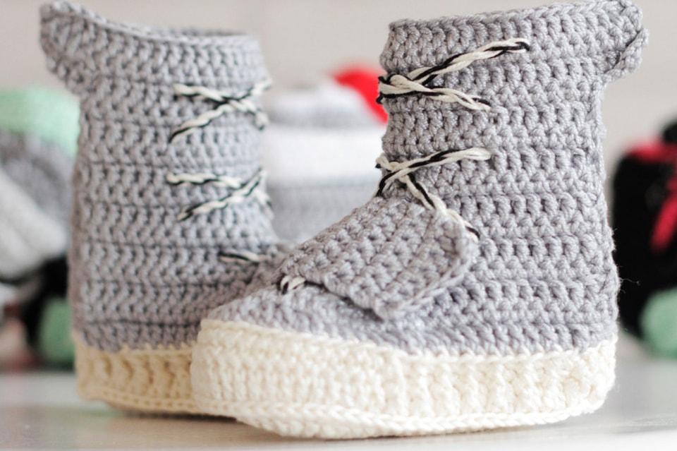 c958c649cda  hypebeastkids  Crochet Yeezy 750 Boost
