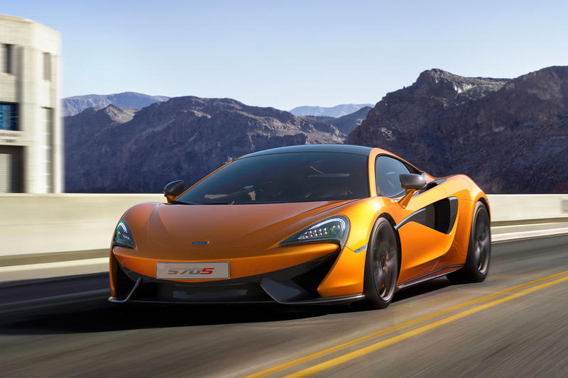 McLaren 570S Introduces New Sports Series