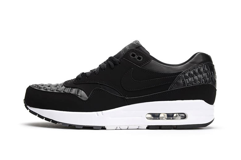 quality design d8936 98ba6 Woven construction makes its way to the classic Nike Air Max 1 with the  introduction of a brand new
