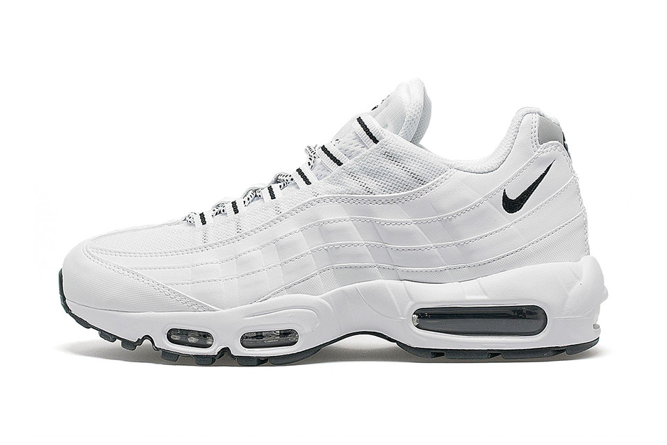 premium selection f2544 f07ad Nike Air Max 95 White Black   HYPEBEAST