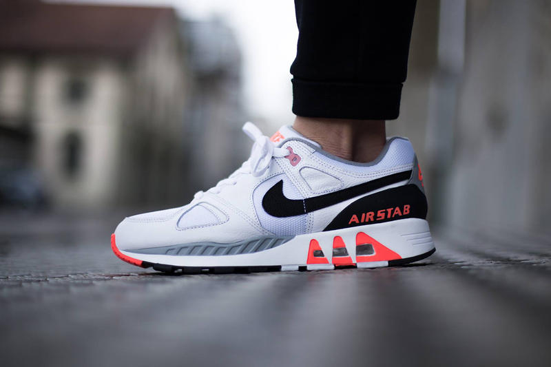 """huge discount 98f2f 64aae Nike s Air Stab is the latest model to receive Nike s favorable """"Hot Lava""""  treatment. The latest"""