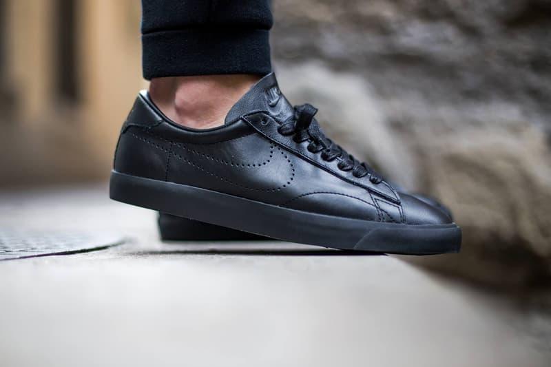 código promocional primer nivel nuevo estilo Nike Tennis Classic AC Premium Black/Black | HYPEBEAST