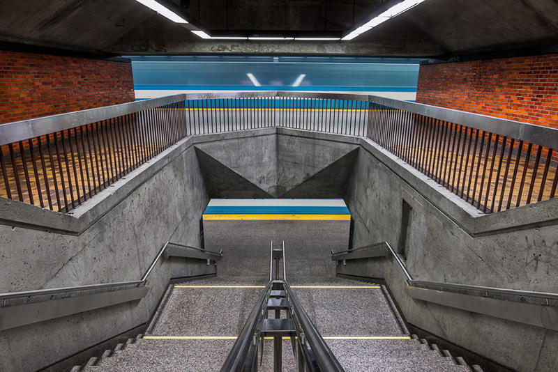 Photographer Chris Forsyth Explores the Overlooked Architecture of the Montreal Underground