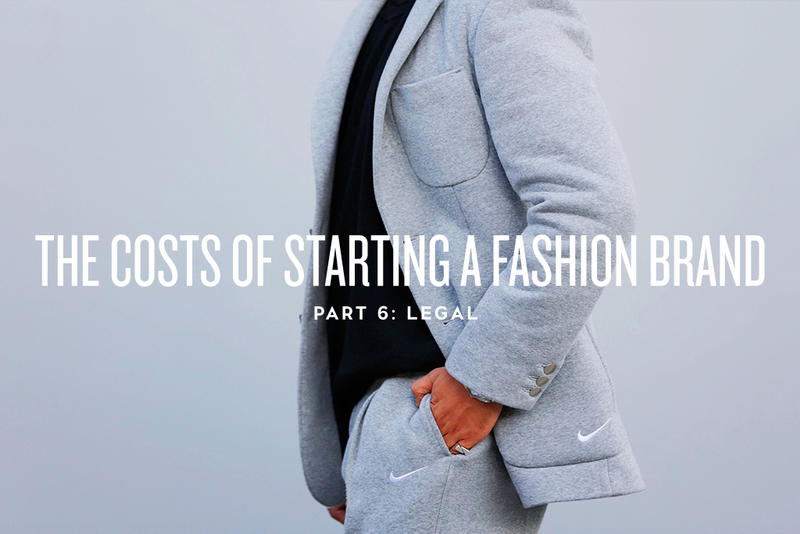The Costs of Starting a Fashion Brand: Legal