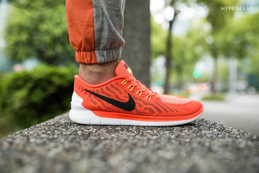 90395c88c3f4f A Closer Look at the Nike Free 5.0 Bright Crimson Total Orange ...