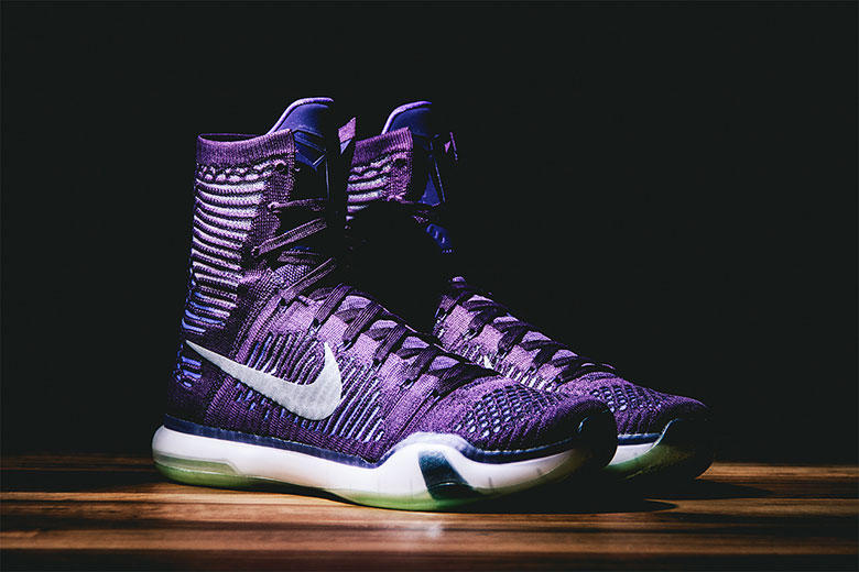 """6925824d2e0b Have a first look at the upcoming Nike Kobe X Elite """"Grand Purple""""  basketball sneaker. The high-top"""