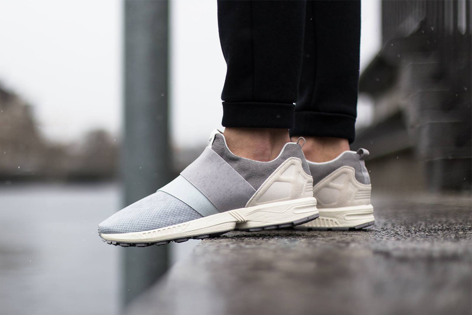 outlet store 0e0d7 9cc12 adidas Originals ZX Flux Slip On Clear Grey Clear Onyx Light Granite    HYPEBEAST