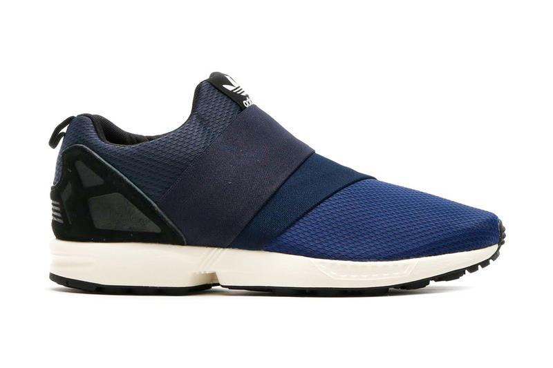 sale retailer 50e7f 92aa9 adidas Originals ZX Flux Slip On Dark Blue/Collegiate Navy ...