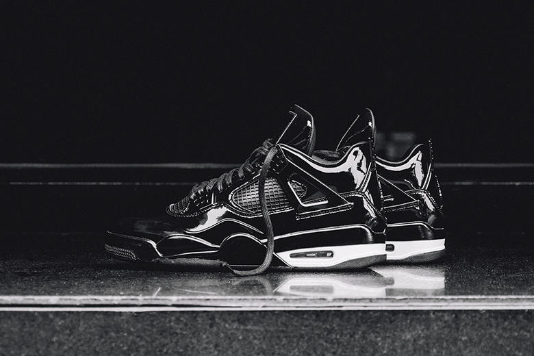 """reputable site 2d302 c8a98 Have a look at the upcoming Air Jordan 11Lab4 """"Black"""" sneakers. The latest  rendition of the iconic"""