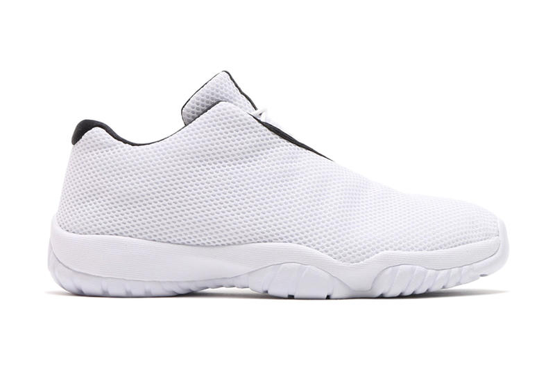 c481f4f112e8 Jordan Brand debuts the Air Jordan Future Low in a fresh white iteration  for the warmer seasons.