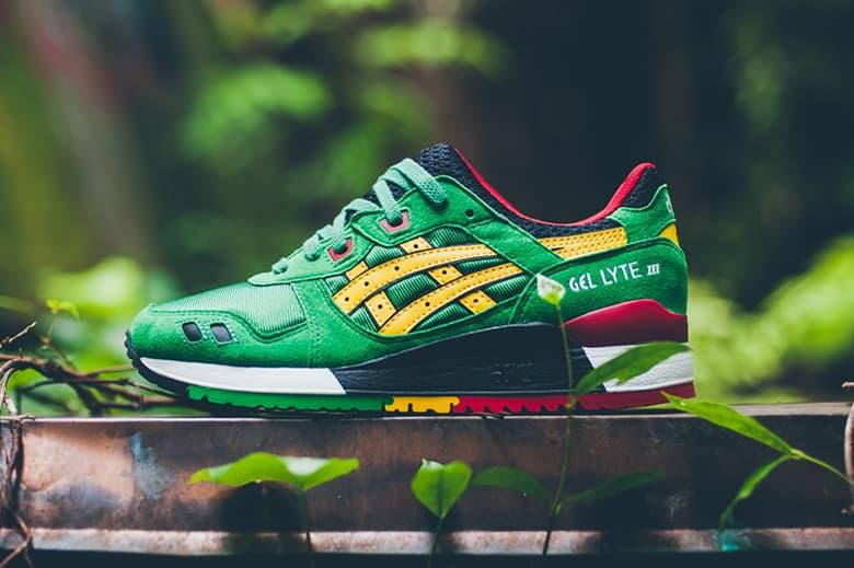 pretty nice e8d19 ac9e7 ASICS GEL-Lyte III Green/Yellow | HYPEBEAST