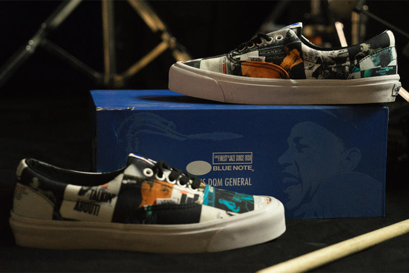 7ee213b68f DQM x Blue Note Records x Vans Collection