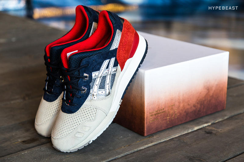 "28f3947409f3 Concepts x ASICS Tiger GEL-Lyte III ""Boston Tea Party"" NYC Launch ..."