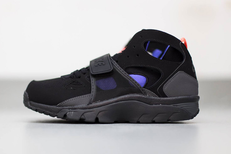 e76ee5ab5fb4 Nike Air Trainer Huarache Black Anthracite-Persian Violet