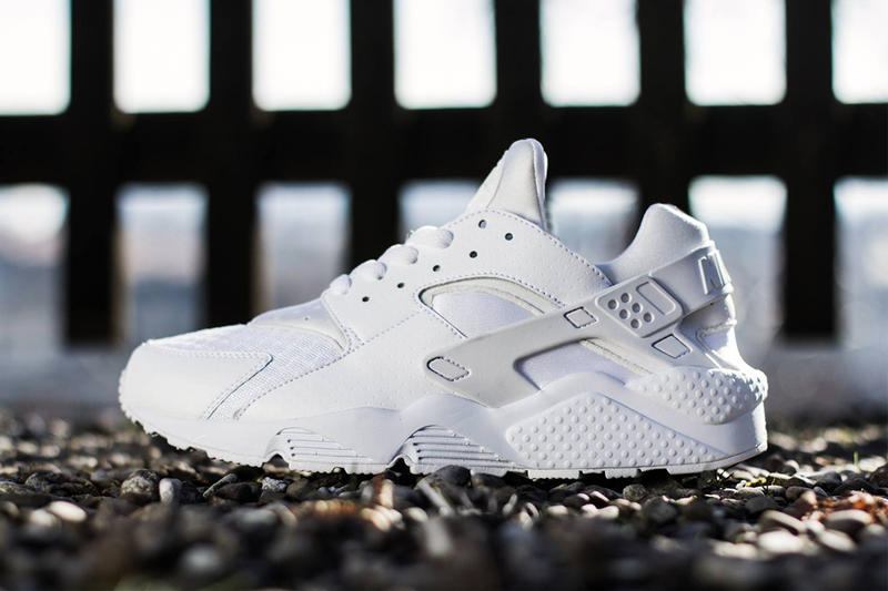 pretty nice 4a6f0 cd2d5 Nike Air Huarache White Pure Platinum. All-white Huaraches make an  unexpected return this spring as an apt followup of sorts to the pair