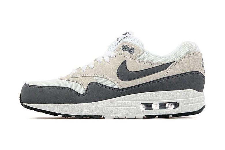 Nike Air Max 1 White/Dark Grey-Black JD