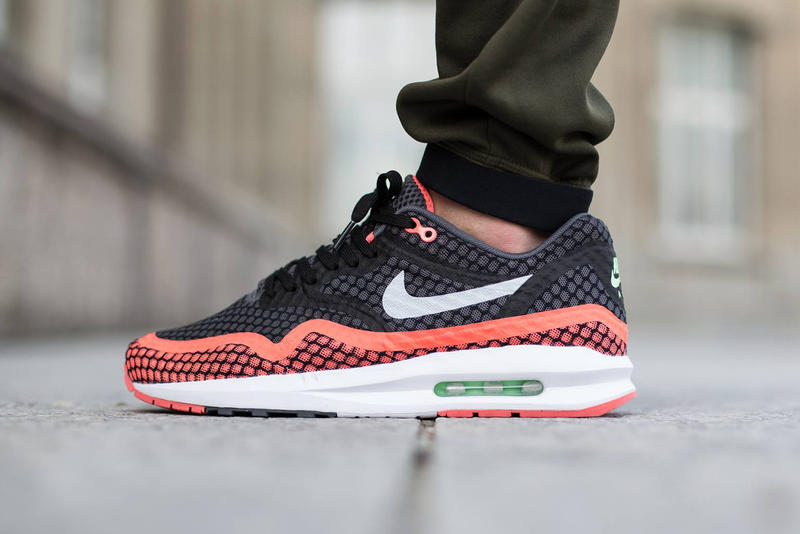 """0c3974f38e The Nike Air Max Lunar1 Breeze gets the """"Hot Lava"""" treatment for summer, ..."""
