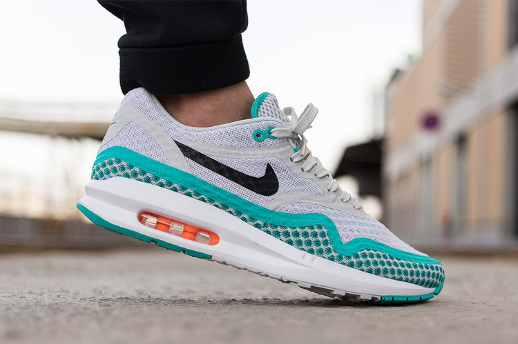 new arrival edc4c 70a28 Nike Air Max Lunar1 Breeze Pure Platinum Black-Light Retro