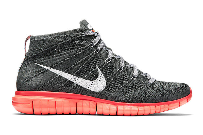 "new style b6982 0babd Nike releases the Nike Free Flyknit Chukka ""Hot Lava"" for the 2015 summer  season with a Dark"