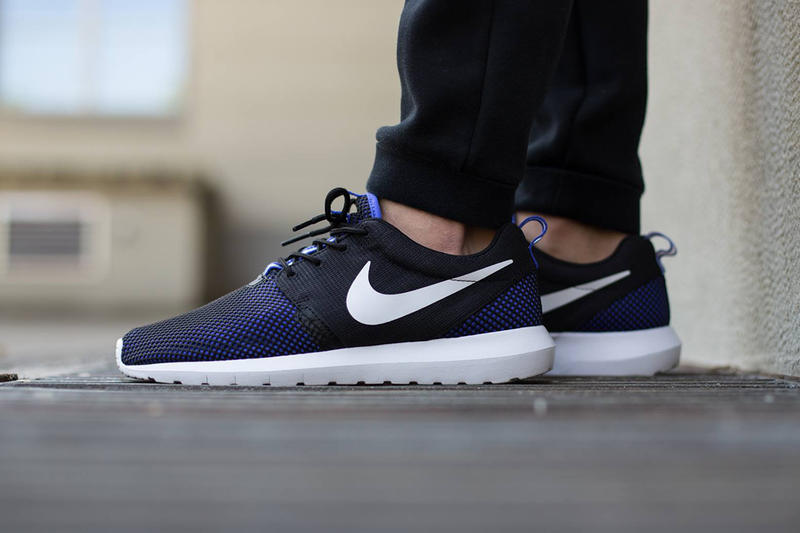 4a7a6969d4bb Check out the latest colorway of Nike s Roshe NM Breeze sneaker. The midtop  runner sports a violet