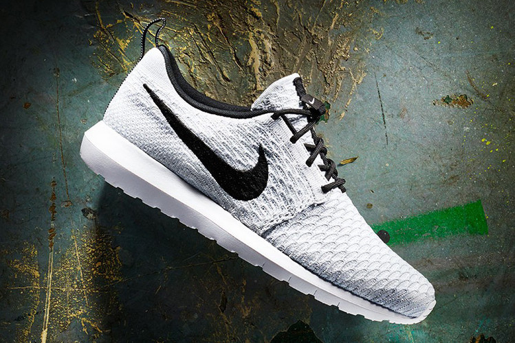 outlet store 850cf 11d18 Nike Roshe NM White/Black–Wolf Grey–Pure Platinum