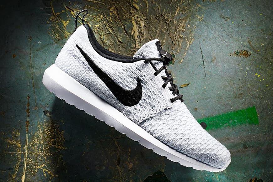 Nike Roshe NM White/Black–Wolf Grey–Pure Platinum